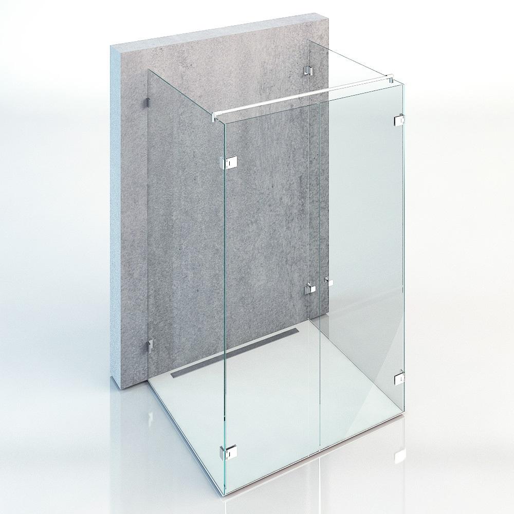 U-Form Duschen