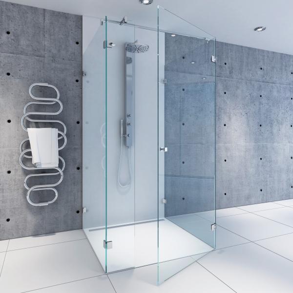 U-Dusche   U01   Massanfertigung