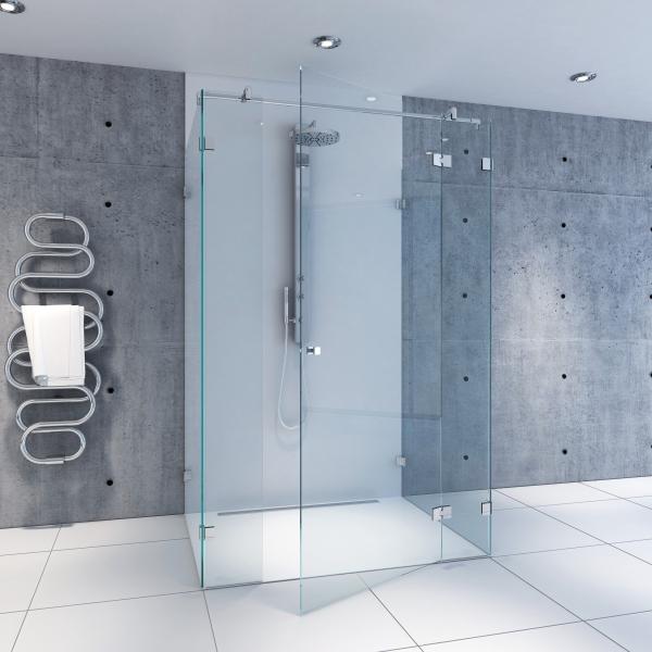 U-Dusche   U04   Massanfertigung